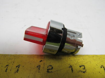 Schneider Square D ZB4 BK1243 22mm LED 2- Position Illuminated Selector Switch