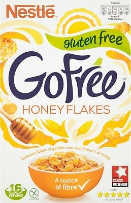 Nestle Go Free Gluten Free Honey Flakes Cereal (1x500g)