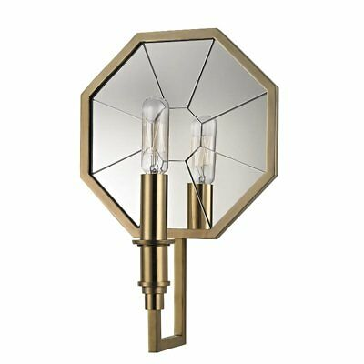 Hudson Valley Lighting Cushing Aged Brass Wall Sconce w/ 1 Light 60W NEW  sc 1 st  PicClick & HUDSON VALLEY LIGHTING Cushing Aged Brass Wall Sconce w/ 1 Light 60W ...