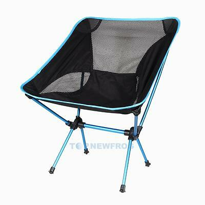 Outdoor Lightweight Portable Seat Folding Camping Chair Fishing Picnic BBQ Beach