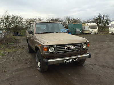 Toyota Land Cruiser HJ60 1986 For Restoration - Based in North Hampshire