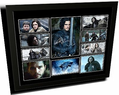Game Of Thrones Jon Snow Signed Limited Edition Framed Memorabilia