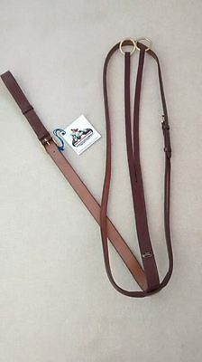 John Whitaker Raised Running Martingale, Full, Oak Brown