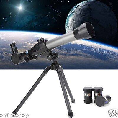 Children Kids Astronomical Telescope with Tripod For Holiday and Birthday Gifts