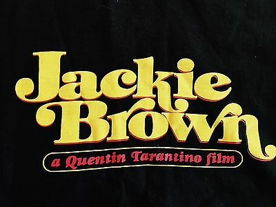 JACKIE BROWN A QUENTIN TARANTINO FILM VINTAGE TEE SHIRT Large rare