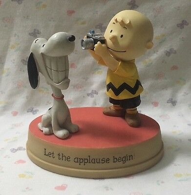 HALLMARK Let The Applause Begin FIGURINE Peanuts Gallery 2012
