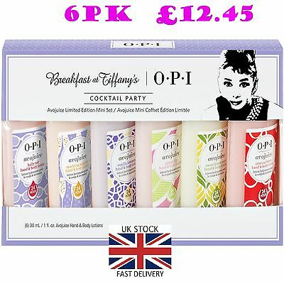 OPI  Avojuice  Breakfast At Tiffany's Cocktail Party  Hand Creams Gift Set