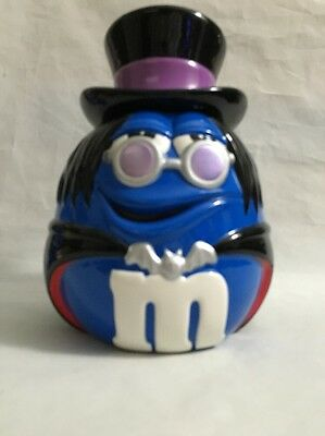 M&M's Blue Dracula JAR Halloween Cookie Candy M&M