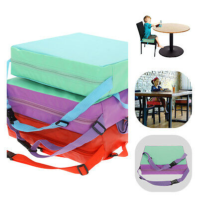 Children Baby Increased Soft Chair Seat Highchair Mat Dining Booster Cushion Pad