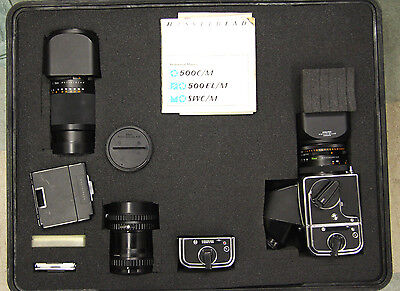 Hasselblad 500C/M Camera with Accessories and Pelican Case