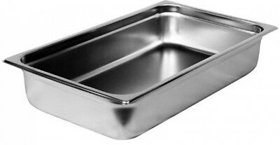 """Steamtable Pan Full 4"""" Stainless Steel STPA8004 Category: Buffet Food Pans"""