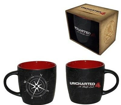 Uncharted 4 A Thief's Compass Map Mug Cup | Official Gaming Merchandise [New]