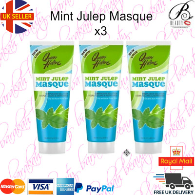 3 x Queen Helene Mint Julep Masque 227g