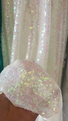 50 in w Hand beaded lace Black Fabric by the yard