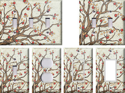 Apple Tree Branches - Light Switch Covers Home Decor Outlet