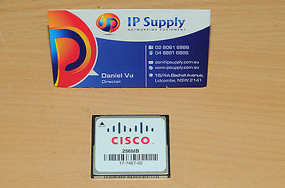 Original Cisco MEM1800-256CF 256 MB Flash for 1801 1811 1841 1803 1812 Router