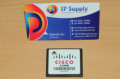 Original Cisco MEM3800-512CF 512 MB Flash for 3825 3845 Series Router