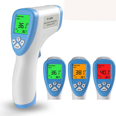 LCD Non-Contact IR Infrared Digital Temperature Temp Thermometer Laser Point Gun