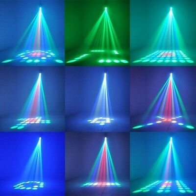Music Active  LED Lights Laser Stage Effect Lighting Club Disco DJ Party Bar