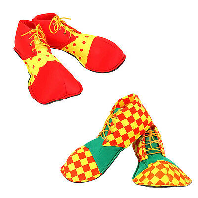 Halloween Cosplay Clown Shoes Wear Clowns Clothes Christmas Party Costumes Props