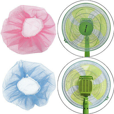 "Baby Family Kid Finger Protector 30~45"" Dia. Fan Guard Net Mesh Safe Dust Cover"