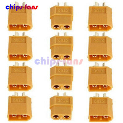 4/10/20pcs XT60 Male & Female Bullet Connectors Plugs for RC Lipo Battery
