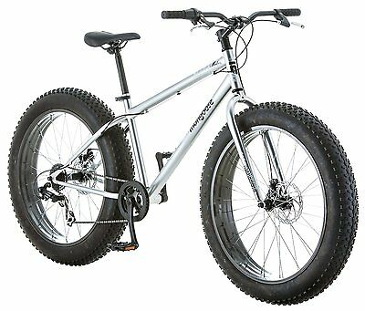 """26"""" Mens Fat Tire bike 7-Speed with Steel Frame Outdoor Ride On NEW"""