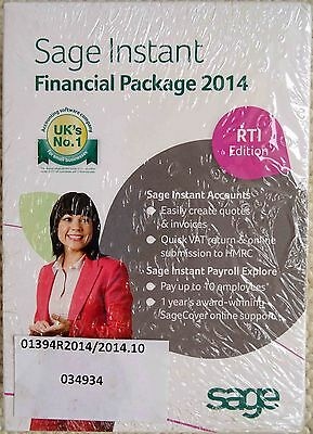 Sage Instant Financial Package 2014 Software Instant Accounts & Payroll Explore