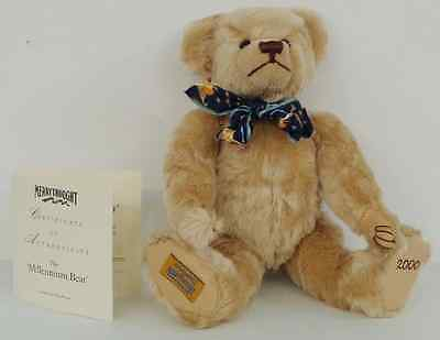 Merrythought Millennium Mohair Bear Growler, Limited Edition, Boxed