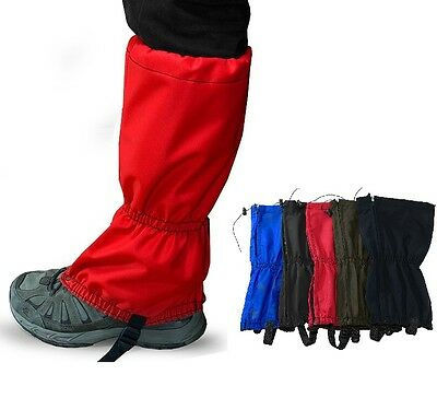 Pair Snow Waterproof Leg Covers Boots Gaiters Trouser - Climbing