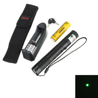 Green Laser Pointer Pen Light Suit With Holster 1mw