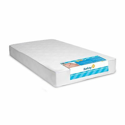 DHP Safety First Heavenly Dreams Crib Mattress Antimicrobial Toddler Bed White