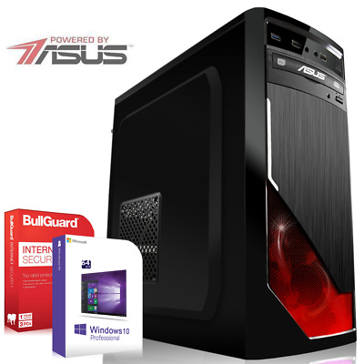 Gamer PC Quad Core Powered by ASUS AMD A10-7860K SSD 16GB Komplett Computer