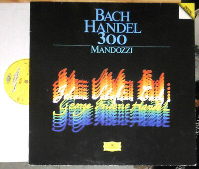 Graziano Mandozzi (Synthesizer) Bach Handel 300 / Lp Mit Autogramm Signed