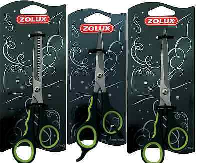 Scissors Zolux Coat Ear Face Grooming Dog Cat Pet Thinning Finishing Straight
