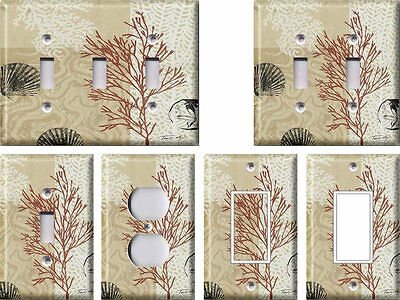 Coral 2 - Light Switch Covers Home Decor Outlet