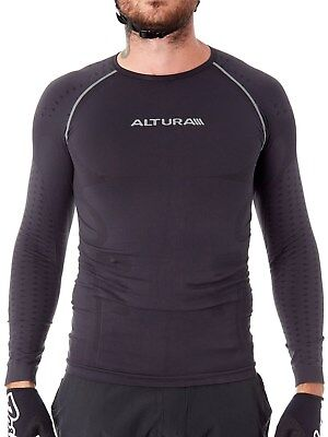 Altura Grey 2016 Second Skin Long Sleeved Baselayer Top