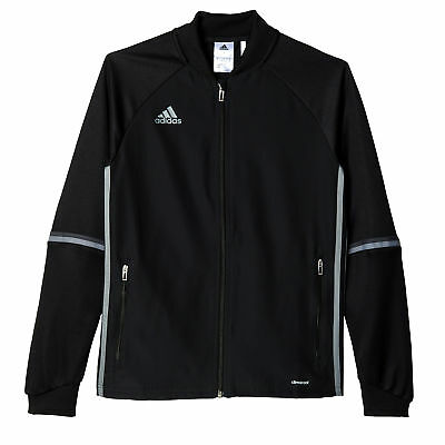 adidas Condivo 16 Kids Fitness Training Jacket Black/ Grey