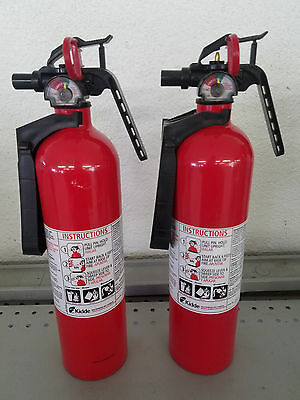 2.5lb Fire Extinguisher ABC Dry Chemical - Kidde FA110 - Lot of 2 -