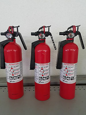 2.5lb Fire Extinguisher ABC Dry Chemical - Kidde - Lot of 3 -