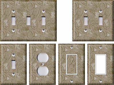 Damask 3 - Light Switch Covers Home Decor Outlet