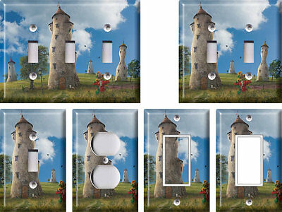 Fairytail Towers - Light Switch Covers Home Decor Outlet