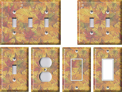 Fall Leaves 2 - Light Switch Covers Home Decor Outlet