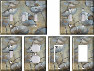 Flowers at Dusk - Light Switch Covers Home Decor Outlet