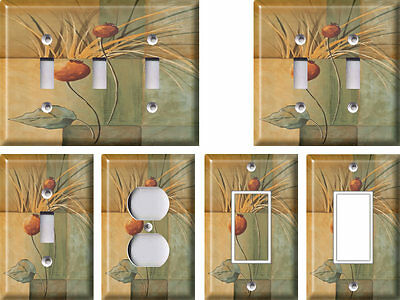 Grass with One Leaf - Light Switch Covers Home Decor Outlet