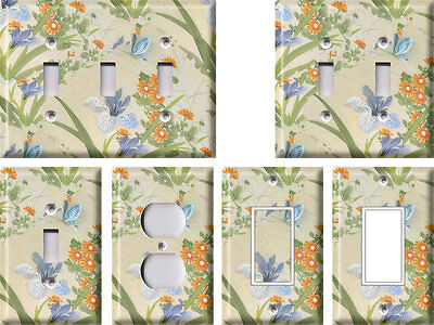 Japanese Garden - Light Switch Covers Home Decor Outlet