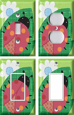 Ladybug - Light Switch Covers Home Decor Outlet