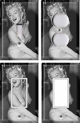 Marilyn Monroe 2 - Light Switch Covers Home Decor Outlet