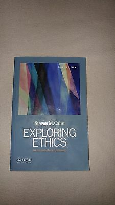 Exploring Ethics : An Introductory Anthology by Steven M. Cahn (2013, Paperback)