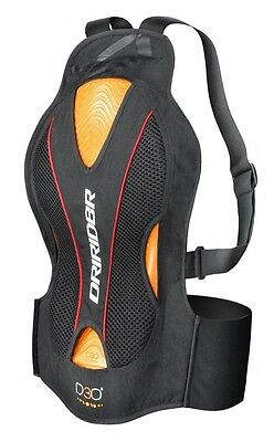 Dririder Evolution motorcycle Back Protector with D3O size Large / XLarge